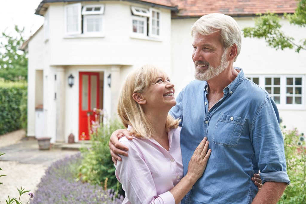 Mature Couple Getting Home Renovation