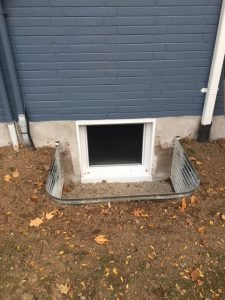 Egress Basement Window Replacement