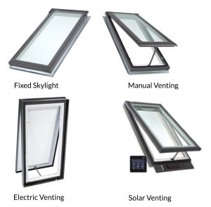 Skylight Window Profiles