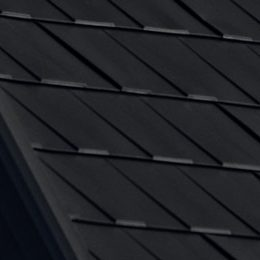 Black-Mica Wakefield Bridge Metal Shingle