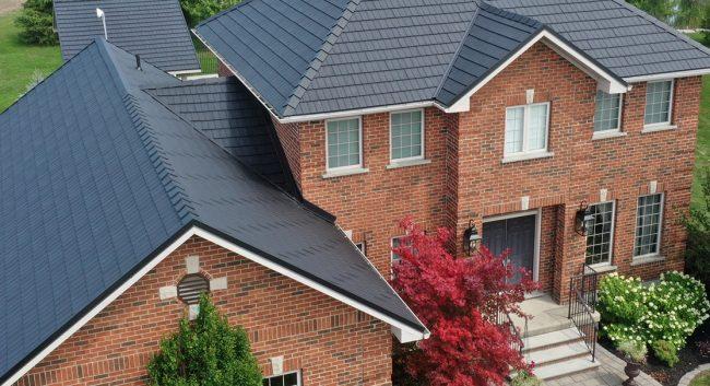 VicWest Cedar Shake Metal Roof